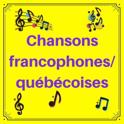 Découvrez des chansons en français dans cette liste de lecture !