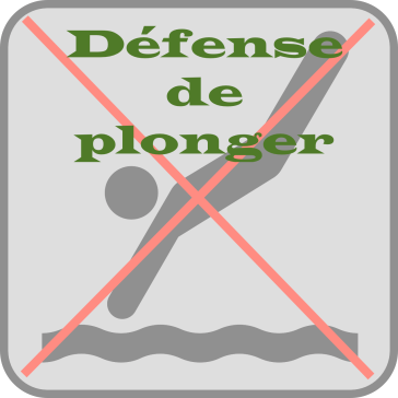 defense-de-plonger