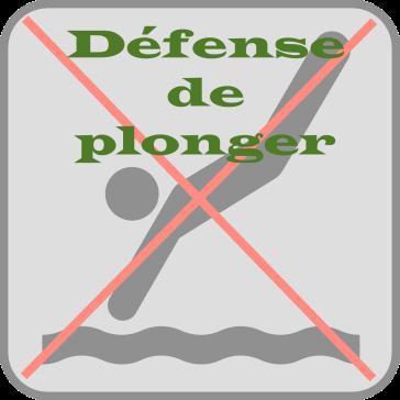 defense-de-plonger