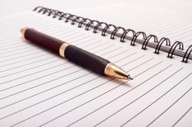 Écrivez vos expériences dans un journal intime