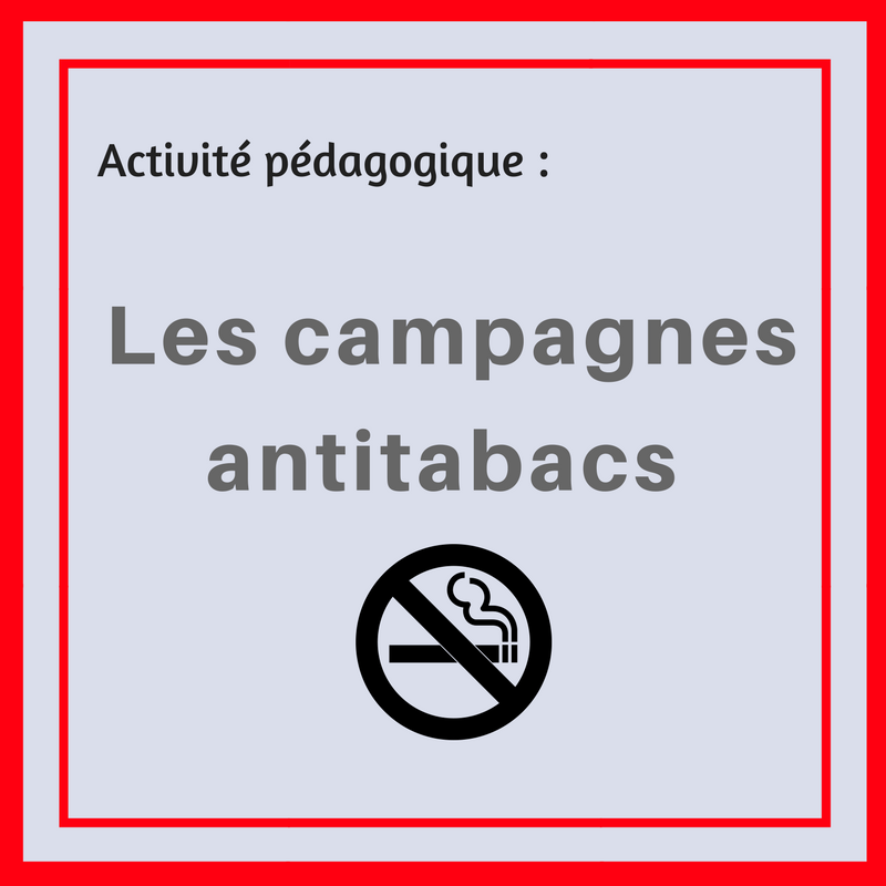 Analysez les publicités contre le tabagisme avec cette activité.
