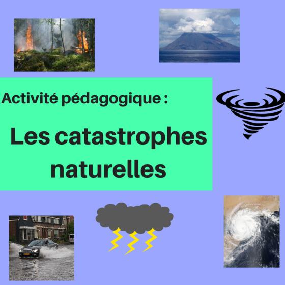 Enseignez le vocabulaire des catastrophes naturelles et donnez des stratégies pour ajouter plus de détails à un texte avec cette activité pédagogique !