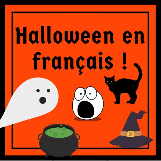 Des ressources en français pour l'Halloween !