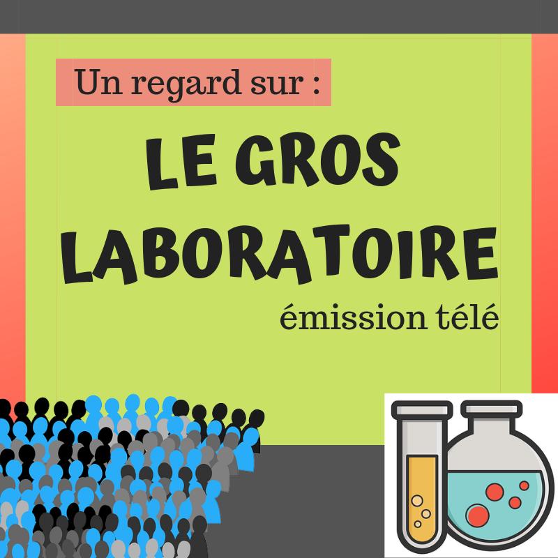 Découvrez cette émission d'expériences scientifiques sociales divertissantes et intrigantes ! : Le gros laboratoire