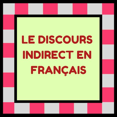 Découvrez comment raconter les paroles d'une autre personne en français avec le discours indirect !