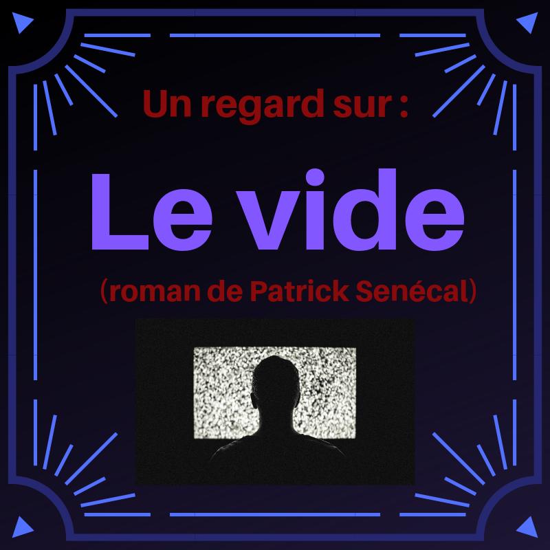 Découvrez ce roman policier intrigant de Patrick Senécal : Le vide