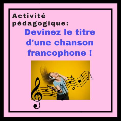 Améliorez la compréhension orale en écoutant des chansons en français et devinez le titre !