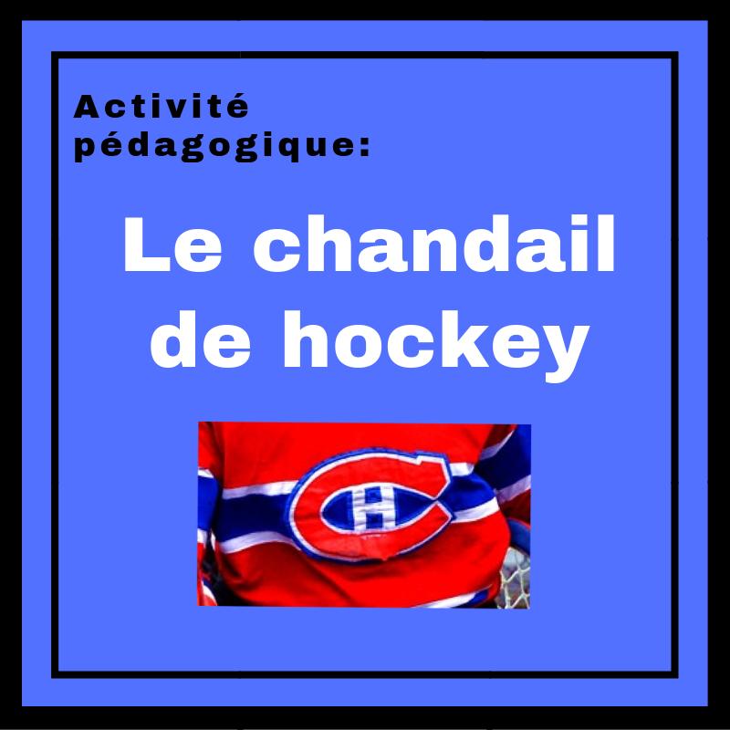 Faites découvrir la nouvelle Le chandail de hockey aux apprenants de français !